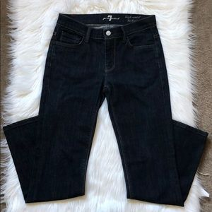 7 for all mankind high waist bootcut in petite